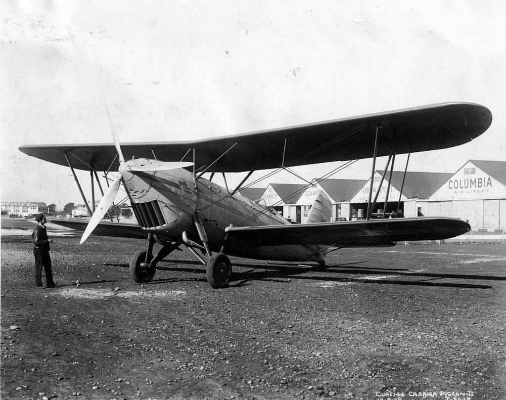 AL79-038 Curtiss Carrier Pigeon 2 NC985H