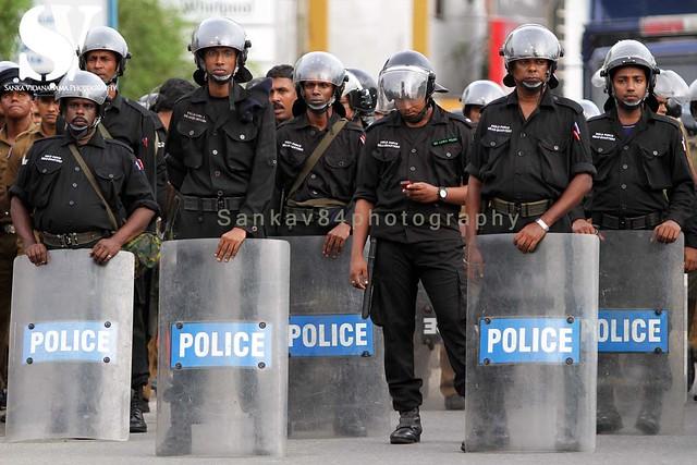 SRI LANKA-PROTEST-MILITARY