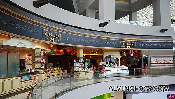 Don't miss Au Chocolat at The Shoppes at Marina Bay Sands