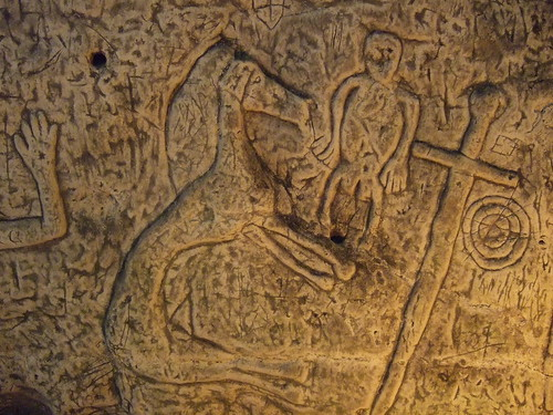royston cave sheela na gig and horse