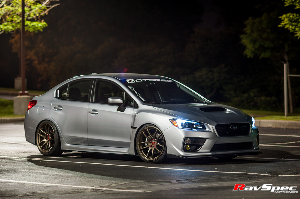 2017 Sti Lowered >> WORK Emotion Kiwami 19×9.5 +38 on Subaru WRX 2015 – RavSpec