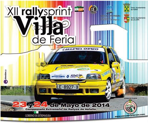 XII Rallysprint Villa de Feria 2014