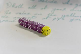 Mini dice