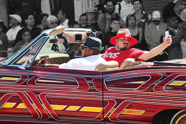 Lowriders at Carnaval