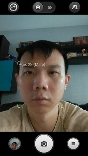 ใช้ Simple mode แล้ว Face recognition มันจะระบุเพศกับอายุได้
