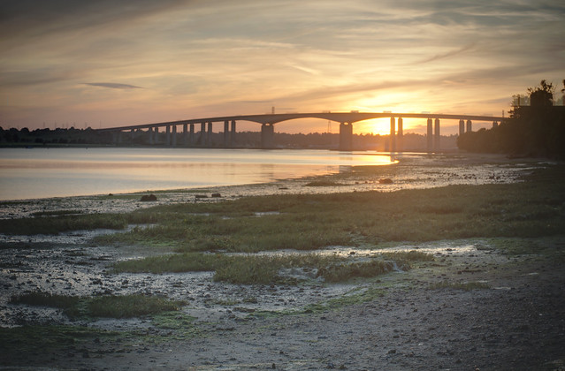 Orwell Bridge HDR
