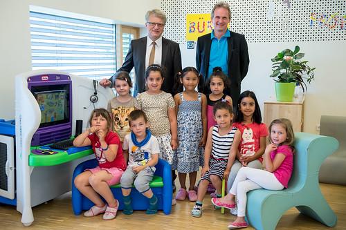 KidSmart Lerncomputer Übergabe in Linz