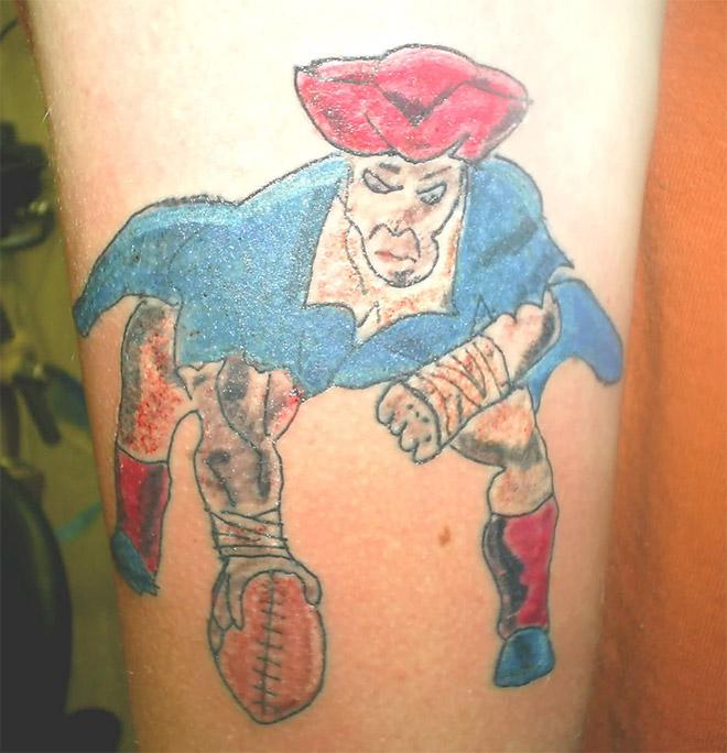 Spauskit ant paveiksliuko ir daugiau pamatysite liūdnų tatuiruočių