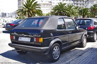 1986 Volkswagen Golf Cabriolet MKI
