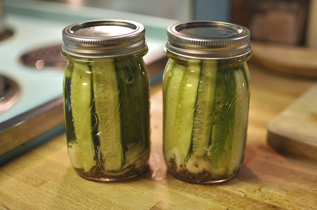 finished pickles