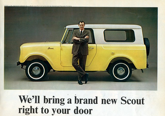 1964 International Scout http://www.flickr.com/photos/37573576@N06/5861311131/
