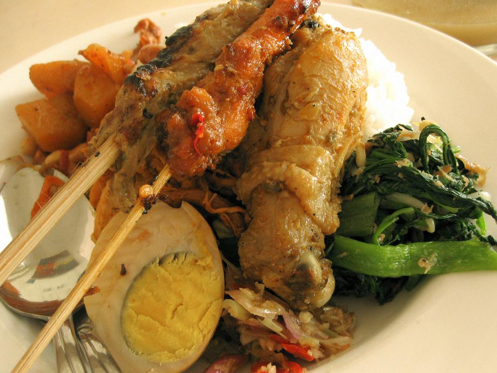 Nasi Campur - Bali Food