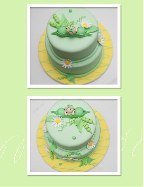 sweet pea baby shower cake flickr photo sharing