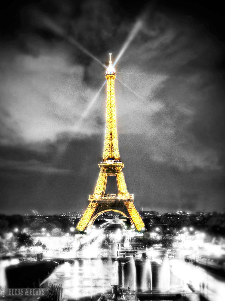 Paris at Night - Eiffel Tower