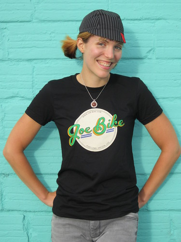 Joe Bike t-shirt front