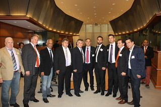 Visita ao Parlamento Europeu, em Bruxelas