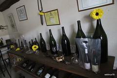 Différentes tailles de bouteilles