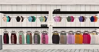 Lacuna - Wiggle Skirt Pack, Satine Halter Packs @ My Attic