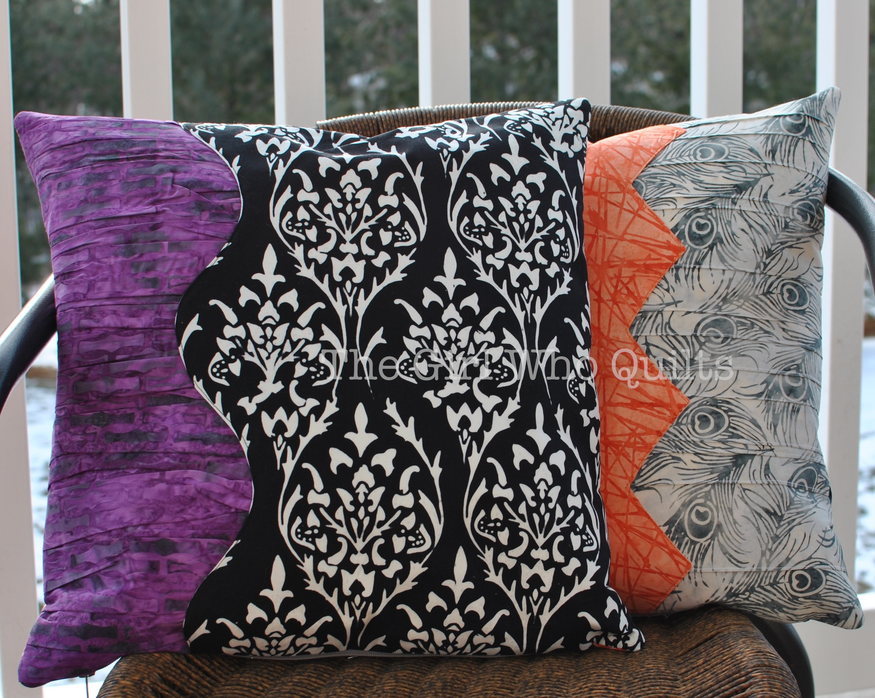Batik Gathering Place Pillows