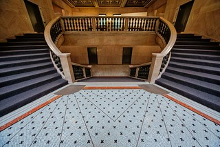 Landing at the Chicago Cultural Center