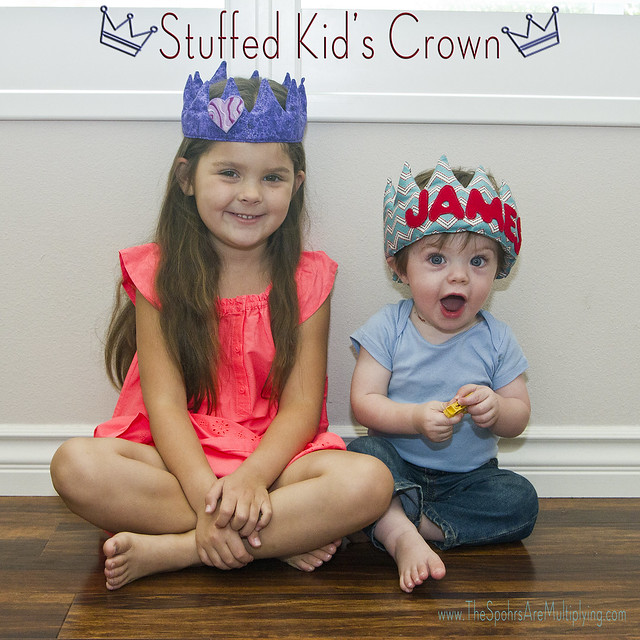 DIY Stuffed Kid's Crown