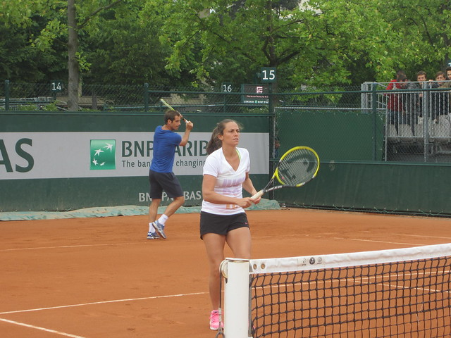 Richard Gasquet and Roberta Vinci