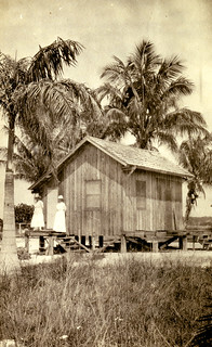 Carl Luettich's cottage on Ft. Myers Beach at Estero Island