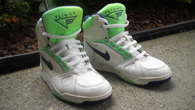 sale retailer 6a83f e4af3 1991 Nike Air Sabre Flight High