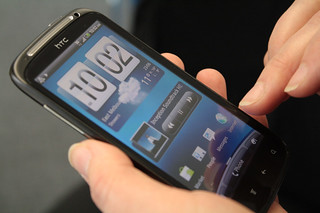 The Android™-powered HTC Sensation smartphone