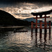 4.The torii of Itsukushima Shrine