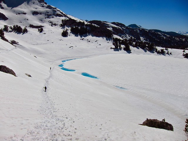 Chief Lake below Silver Pass
