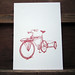 Art print for Ira Ryan and Trucker Racks by fortress letterpress