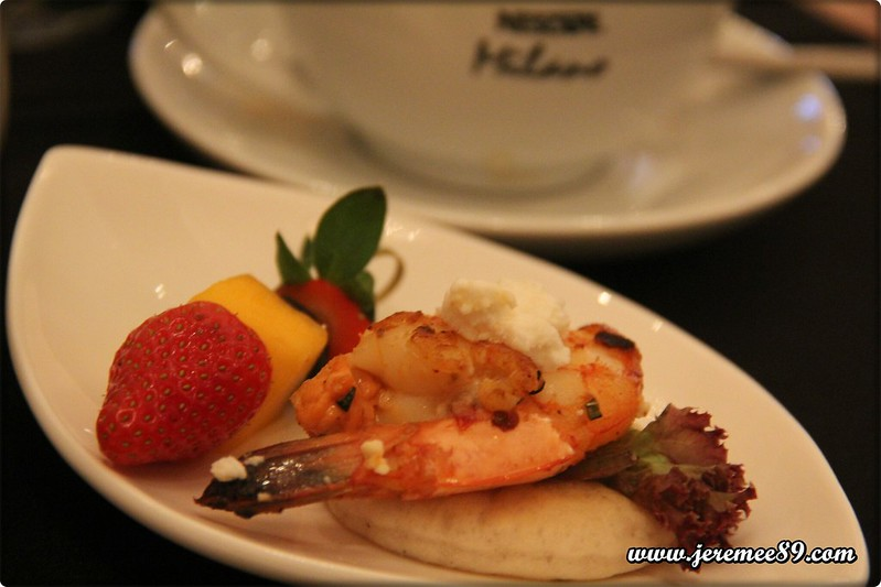 Nescafe Milano Launching @ E&O Hotel - Light Meal