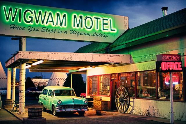wigwam motel holbrook arizona. Black Bedroom Furniture Sets. Home Design Ideas