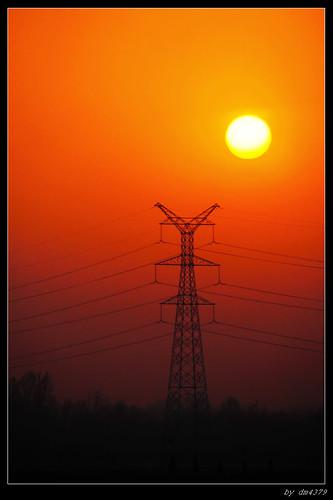 sunset ningxia 寧夏