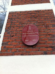 Photo of Frans Banningh Cocq red plaque