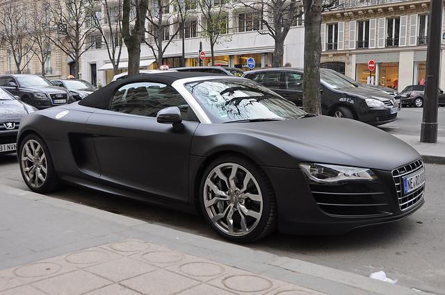 Audi r8 spyder matte black 2017 ototrends net