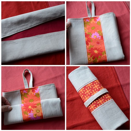 Napkin Roll-Up How-To
