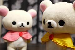 giant panda(0.0), bear(0.0), teddy bear(1.0), textile(1.0), plush(1.0), stuffed toy(1.0), toy(1.0),