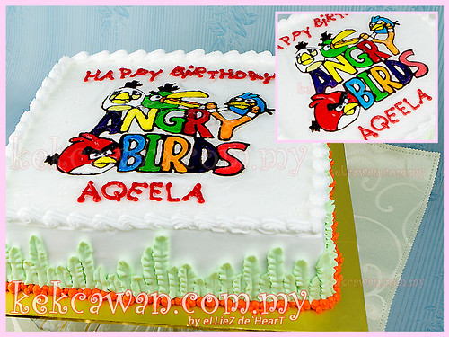 Drawing Cake - Angry Bird