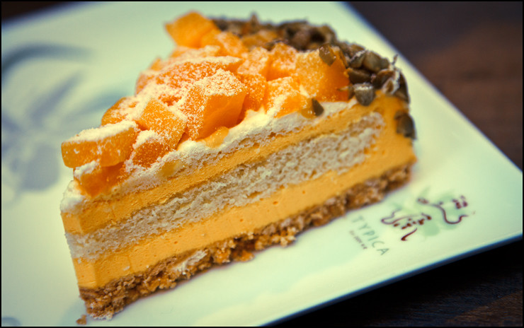 Typica Cafe mango-cake