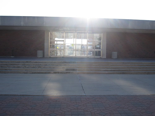 Photo of Undergraduate Library in the sunshine
