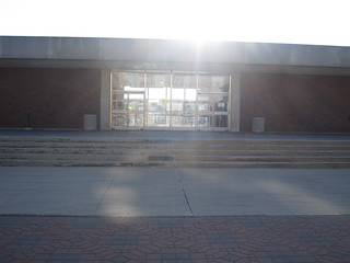 Sunny photo of UGL from outside