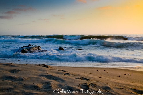 Windansea Beach Sunset by nikonkell Kelly Wade Photography