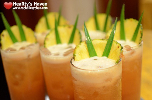 Li Li Hyatt Guava Iced Tea
