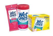 Wet Ones Wipes Canisters Or Boxes Of Singles Or Big One Wipes Coupon