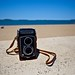 Yashica A at the beach 140/366 by C Shore