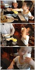 アグーズカフェのとらちゃん (2012/6/17)