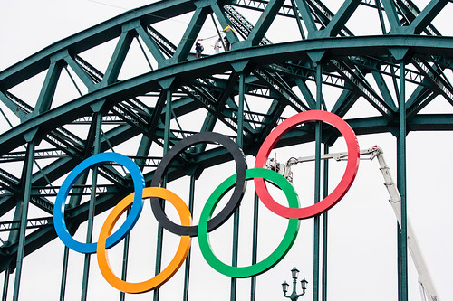 The Torch lifts up to the Tyne Bridge by Ian @ Gosforth, on Flickr