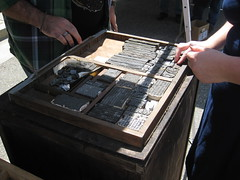 S.F. Bay Area Printers' Fair & Wayzgoose, May 17th, 2014